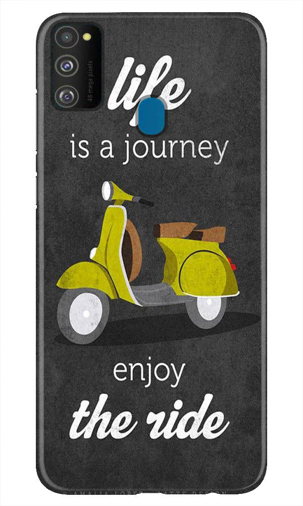 Life is a Journey Case for Samsung Galaxy M21 (Design No. 261)