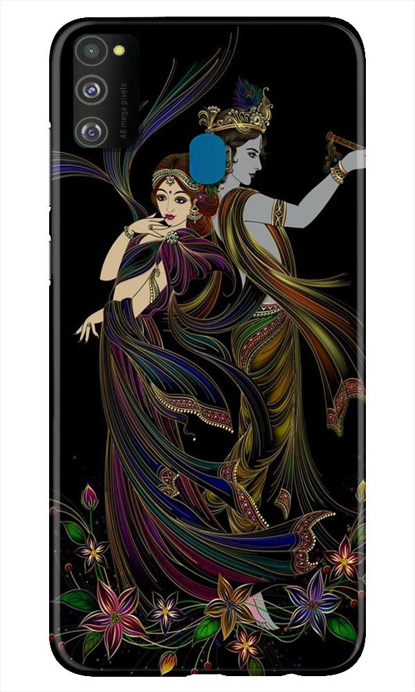 Radha Krishna Case for Samsung Galaxy M21 (Design No. 290)