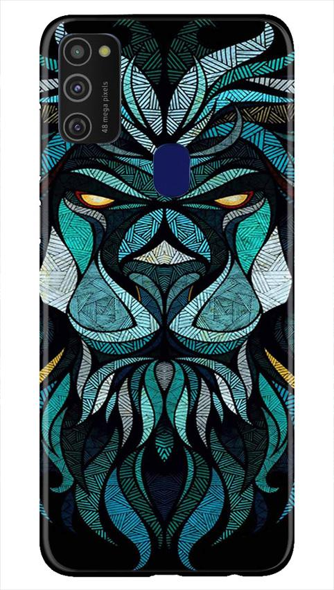Lion Mobile Back Case for Samsung Galaxy M21   (Design - 314)