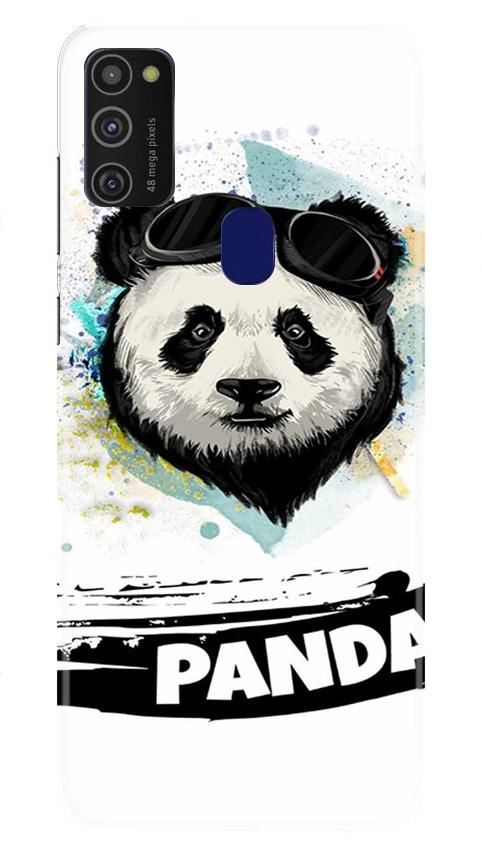 Panda Mobile Back Case for Samsung Galaxy M21   (Design - 319)