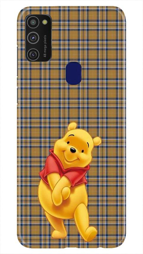 Pooh Mobile Back Case for Samsung Galaxy M21   (Design - 321)