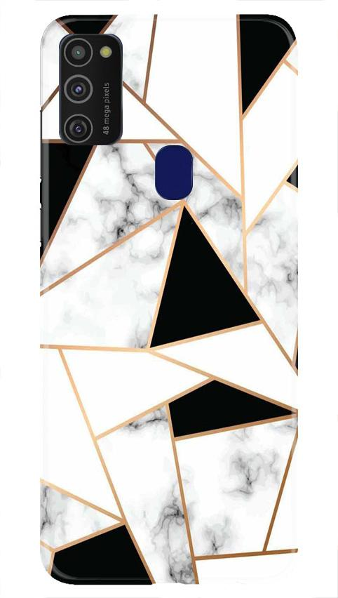 Marble Texture Mobile Back Case for Samsung Galaxy M21   (Design - 322)