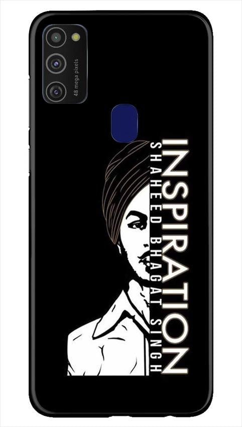 Bhagat Singh Mobile Back Case for Samsung Galaxy M21   (Design - 329)