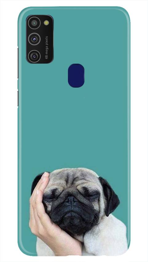 Puppy Mobile Back Case for Samsung Galaxy M21   (Design - 333)
