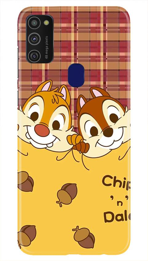 Chip n Dale Mobile Back Case for Samsung Galaxy M21   (Design - 342)