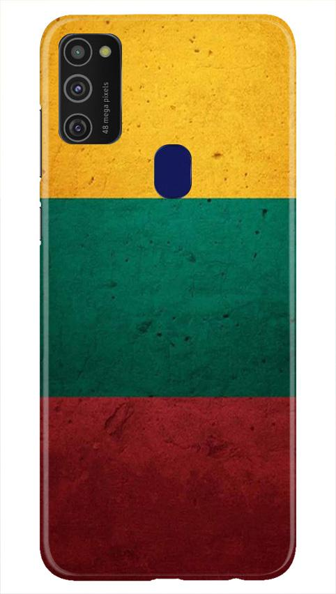 Color Pattern Mobile Back Case for Samsung Galaxy M21   (Design - 374)