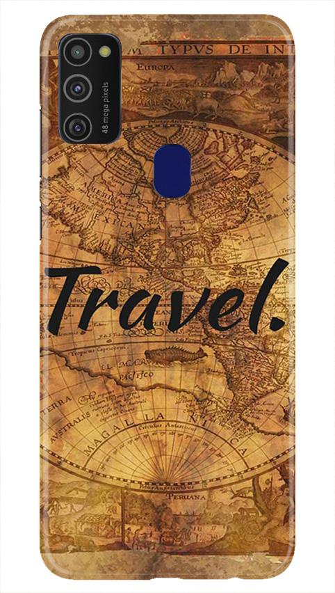 Travel Mobile Back Case for Samsung Galaxy M21   (Design - 375)