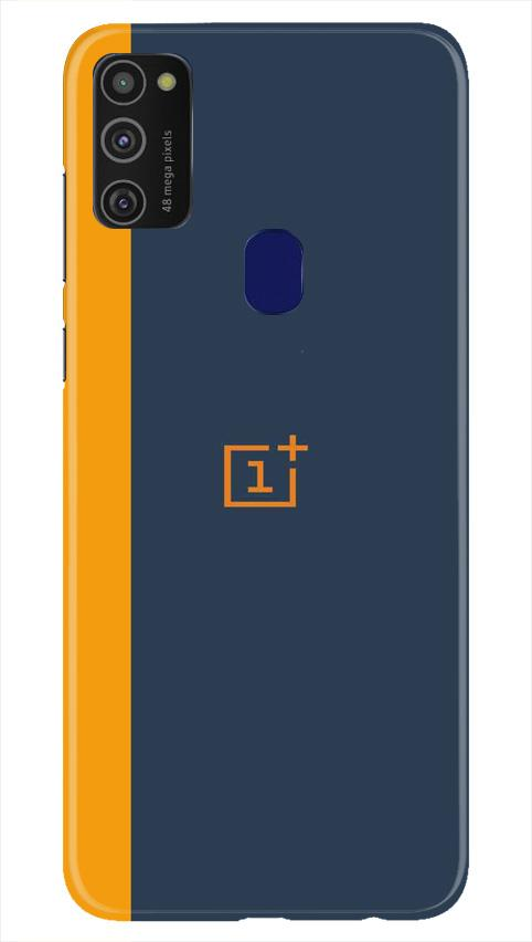 Oneplus Logo Mobile Back Case for Samsung Galaxy M21   (Design - 395)