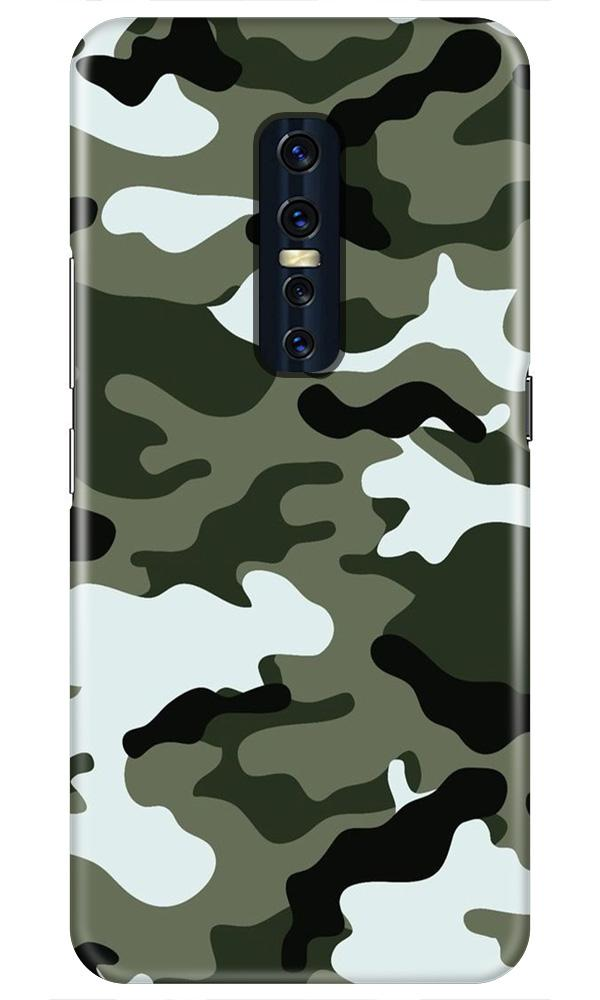 Army Camouflage Case for Vivo V17 Pro  (Design - 108)