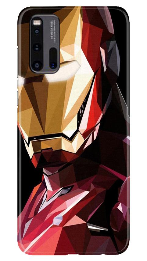 Iron Man Superhero Case for Vivo iQ00 3  (Design - 122)