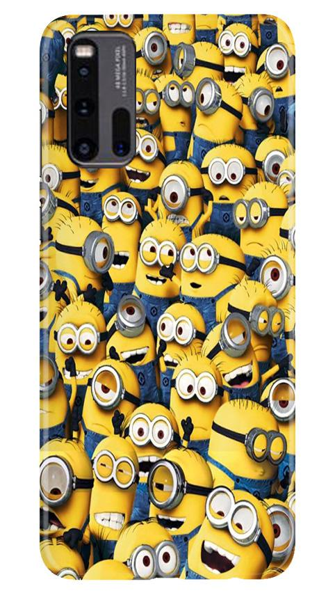 Minions Case for Vivo iQ00 3  (Design - 126)