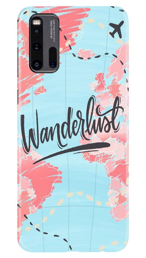 Wonderlust Travel Case for Vivo iQ00 3 (Design No. 223)