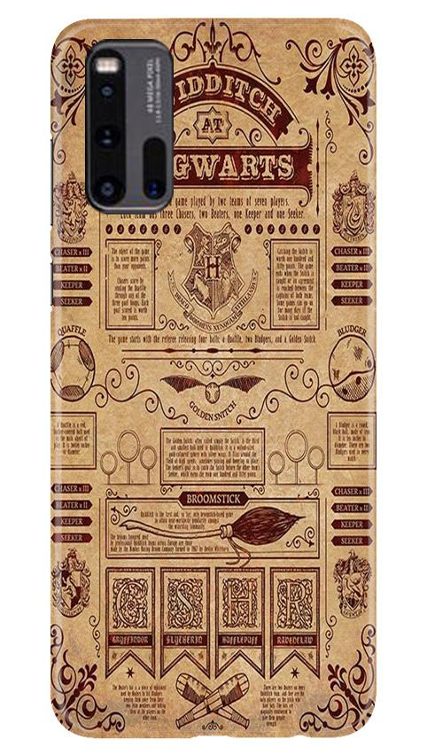 Hogwarts Mobile Back Case for Vivo iQ00 3 (Design - 304)