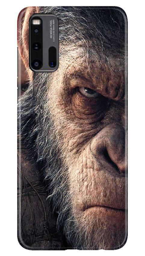Angry Ape Mobile Back Case for Vivo iQ00 3 (Design - 316)