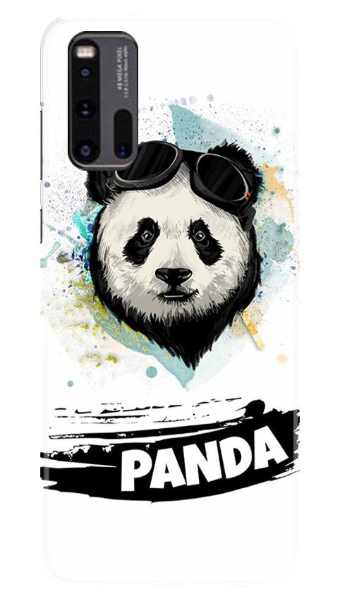 Panda Mobile Back Case for Vivo iQ00 3 (Design - 319)