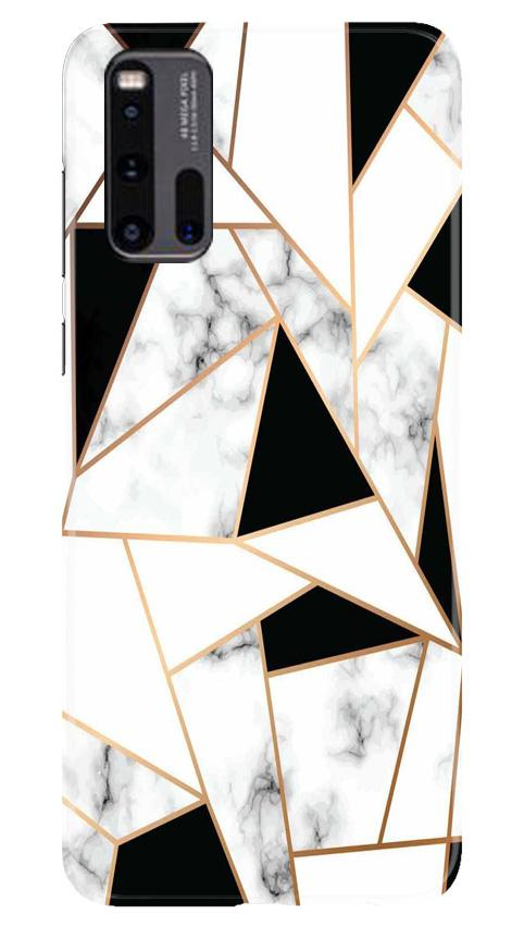 Marble Texture Mobile Back Case for Vivo iQ00 3 (Design - 322)