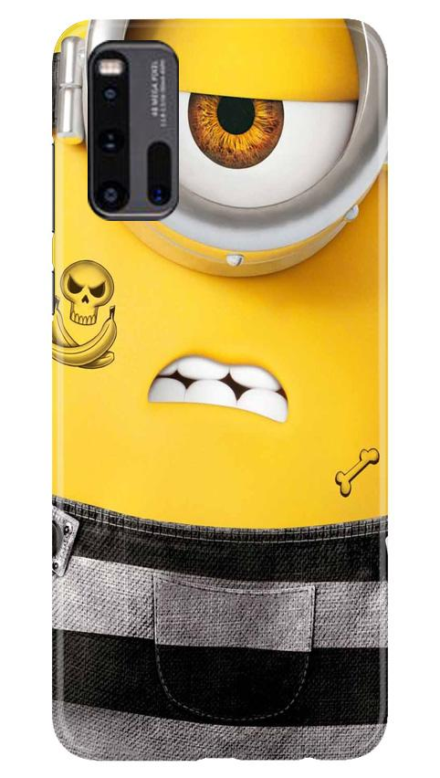 Minion Mobile Back Case for Vivo iQ00 3 (Design - 324)