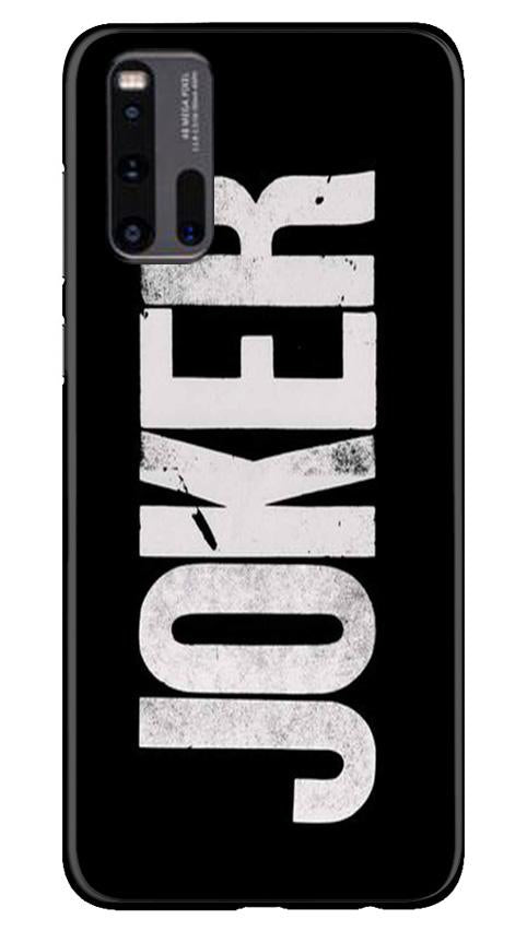 Joker Mobile Back Case for Vivo iQ00 3 (Design - 327)