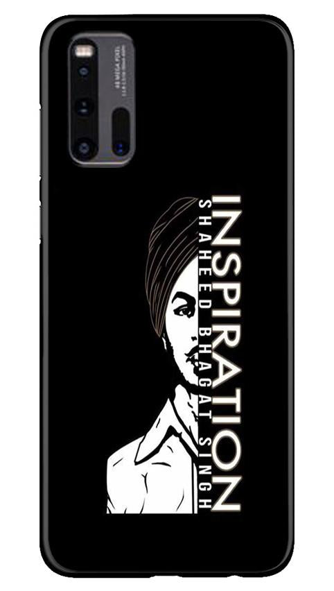 Bhagat Singh Mobile Back Case for Vivo iQ00 3 (Design - 329)