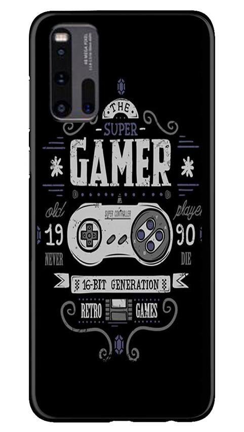 Gamer Mobile Back Case for Vivo iQ00 3 (Design - 330)