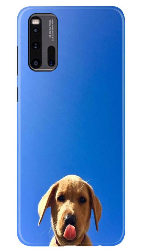 Dog Mobile Back Case for Vivo iQ00 3 (Design - 332)