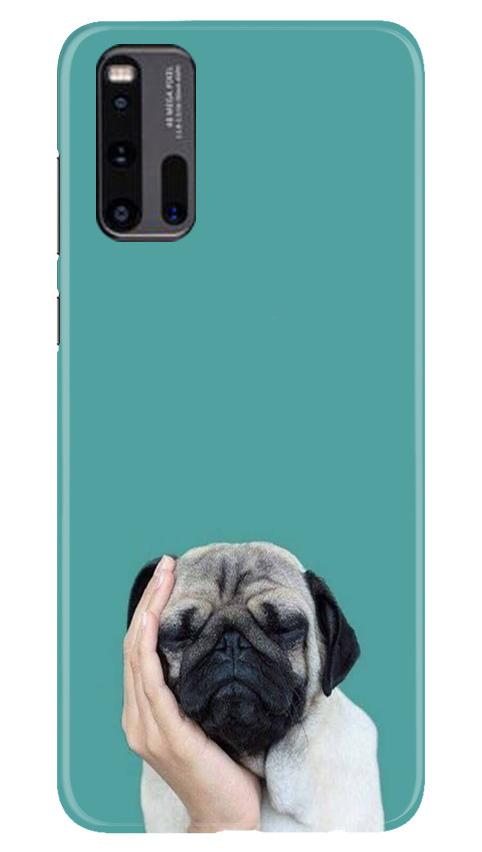 Puppy Mobile Back Case for Vivo iQ00 3 (Design - 333)