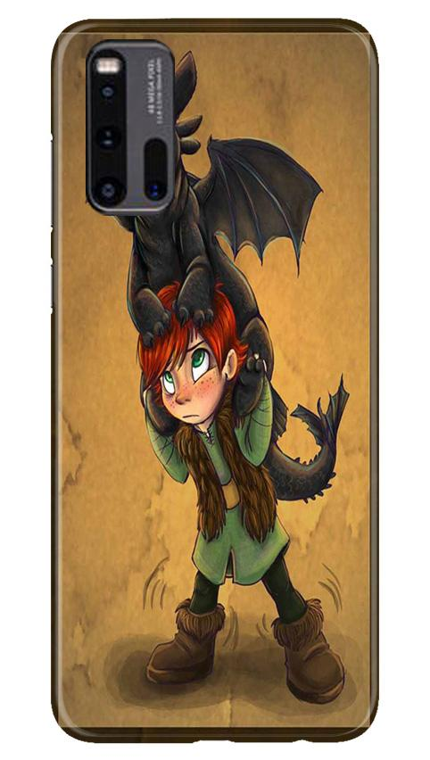 Dragon Mobile Back Case for Vivo iQ00 3 (Design - 336)