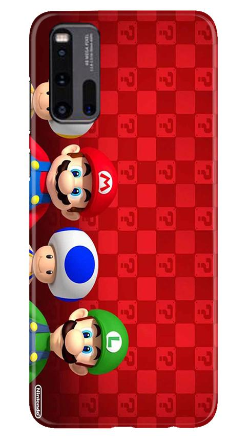Mario Mobile Back Case for Vivo iQ00 3 (Design - 337)