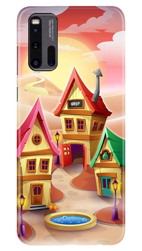 Sweet Home Mobile Back Case for Vivo iQ00 3 (Design - 338)