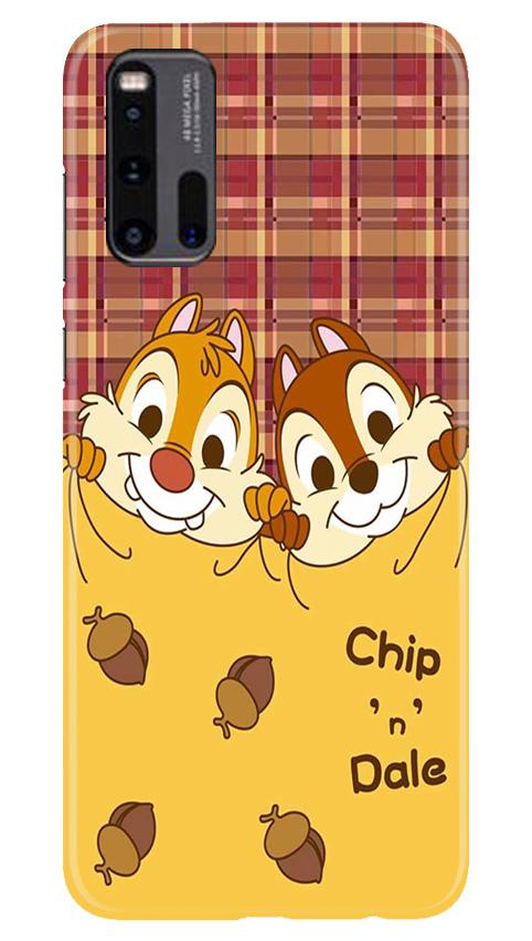 Chip n Dale Mobile Back Case for Vivo iQ00 3 (Design - 342)