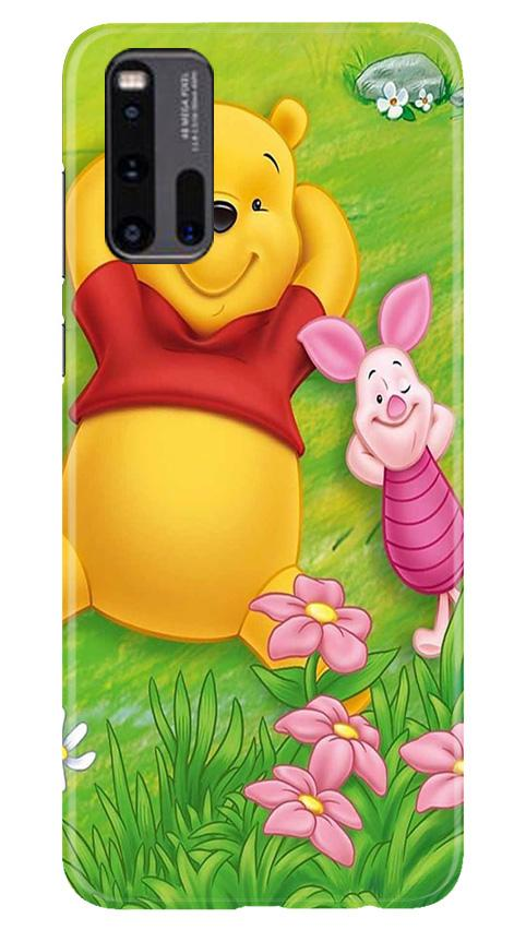 Winnie The Pooh Mobile Back Case for Vivo iQ00 3 (Design - 348)
