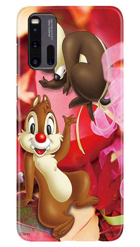 Chip n Dale Mobile Back Case for Vivo iQ00 3 (Design - 349)