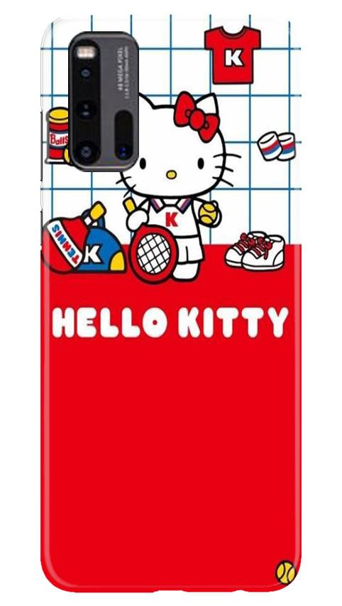 Hello Kitty Mobile Back Case for Vivo iQ00 3 (Design - 363)