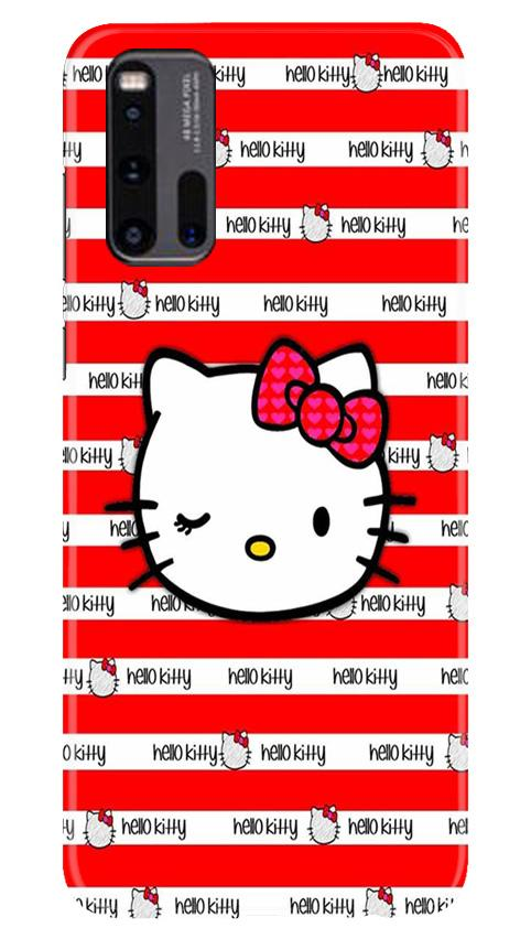Hello Kitty Mobile Back Case for Vivo iQ00 3 (Design - 364)