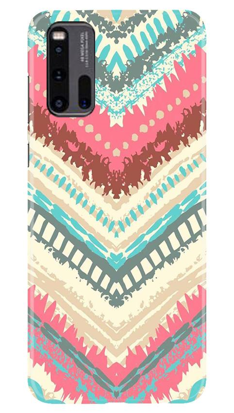 Pattern Mobile Back Case for Vivo iQ00 3 (Design - 368)