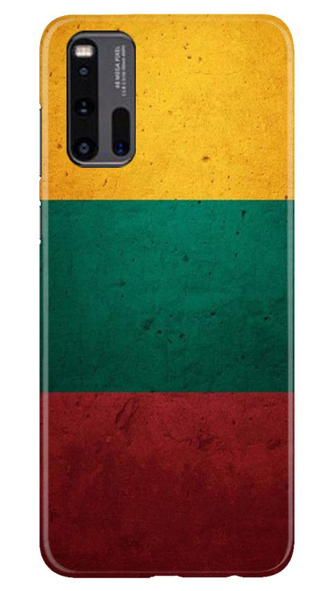 Color Pattern Mobile Back Case for Vivo iQ00 3 (Design - 374)