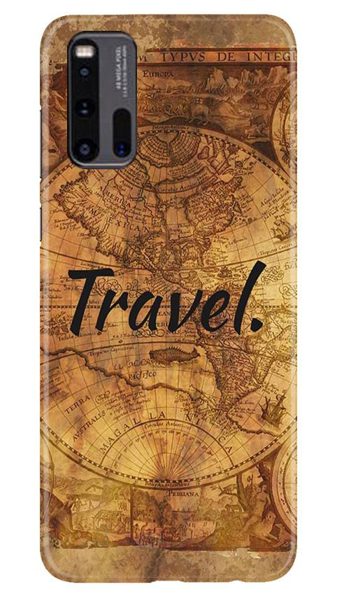 Travel Mobile Back Case for Vivo iQ00 3 (Design - 375)