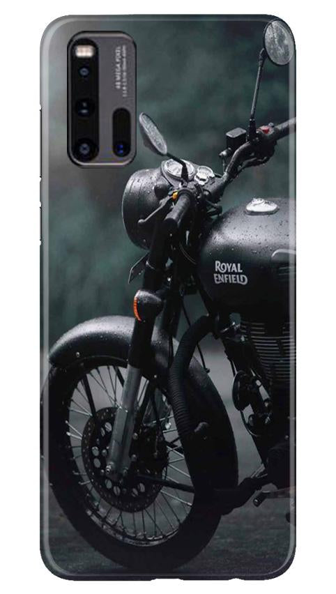 Royal Enfield Mobile Back Case for Vivo iQ00 3 (Design - 380)