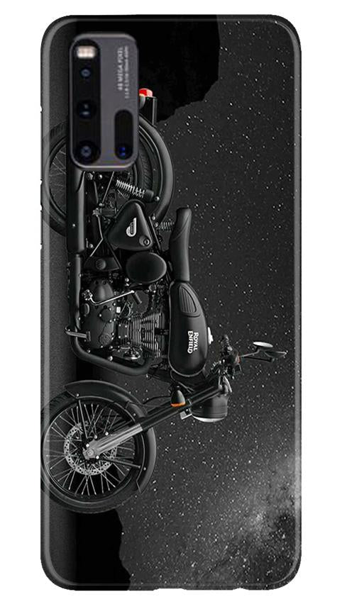 Royal Enfield Mobile Back Case for Vivo iQ00 3 (Design - 381)