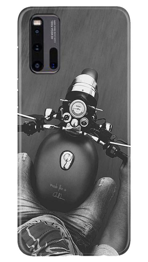 Royal Enfield Mobile Back Case for Vivo iQ00 3 (Design - 382)