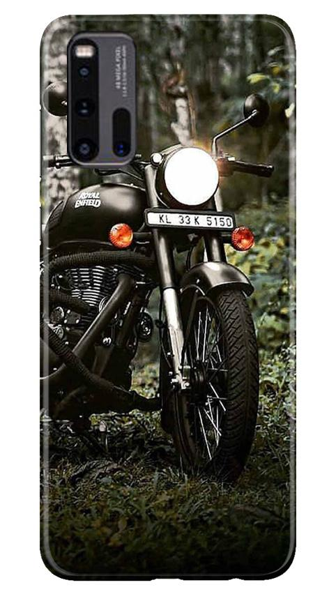 Royal Enfield Mobile Back Case for Vivo iQ00 3 (Design - 384)