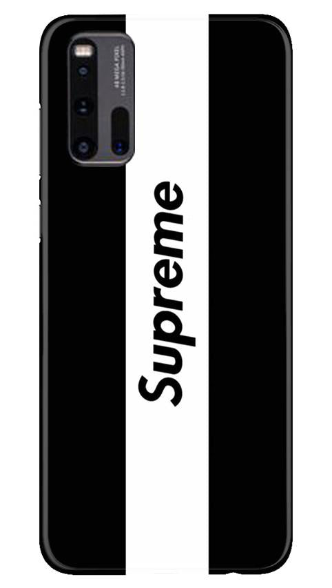 Supreme Mobile Back Case for Vivo iQ00 3 (Design - 388)