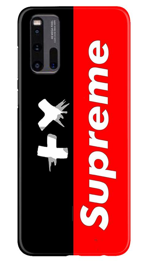 Supreme Mobile Back Case for Vivo iQ00 3 (Design - 389)