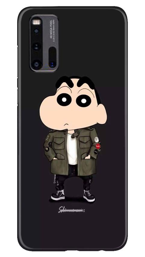 Shin Chan Mobile Back Case for Vivo iQ00 3 (Design - 391)