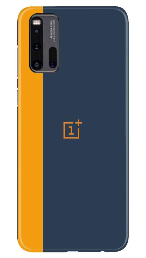Oneplus Logo Mobile Back Case for Vivo iQ00 3 (Design - 395)