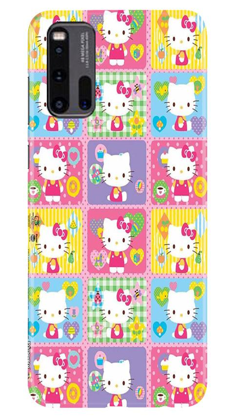 Kitty Mobile Back Case for Vivo iQ00 3 (Design - 400)