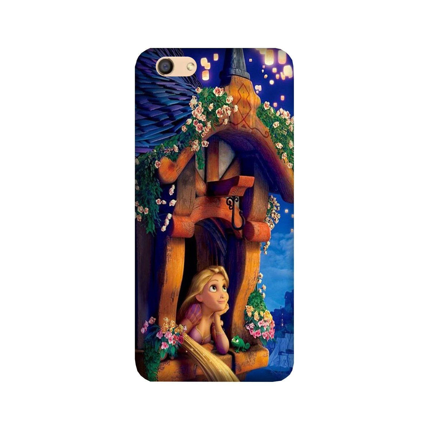 Cute Girl Case for Vivo Y55s/Y55L (Design - 198)