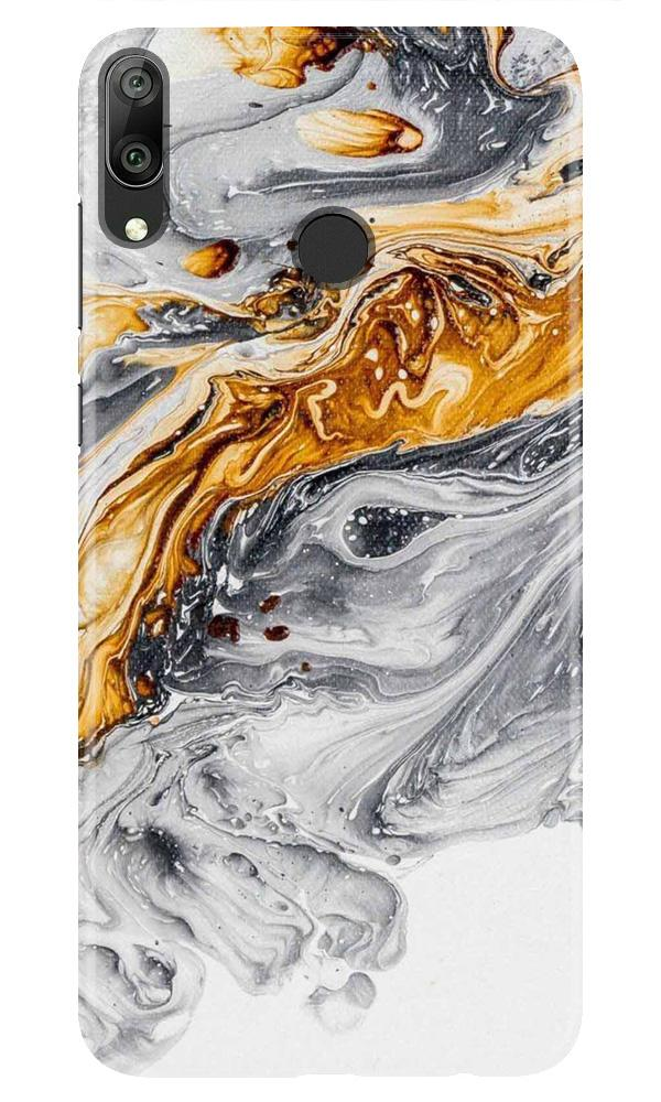 Marble Texture Mobile Back Case for Honor Play (Design - 310)