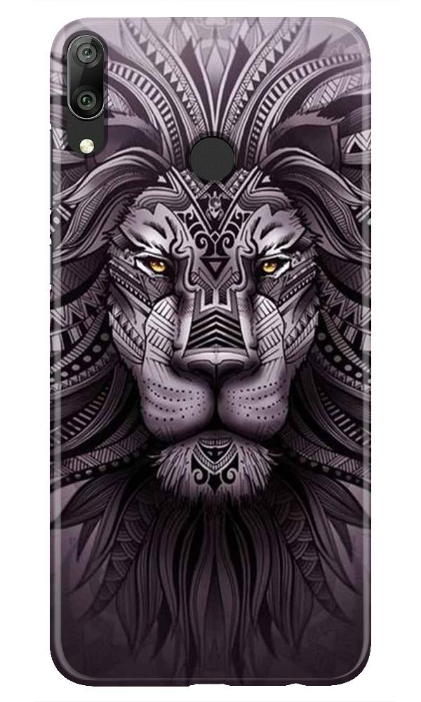 Lion Mobile Back Case for Honor Play (Design - 315)