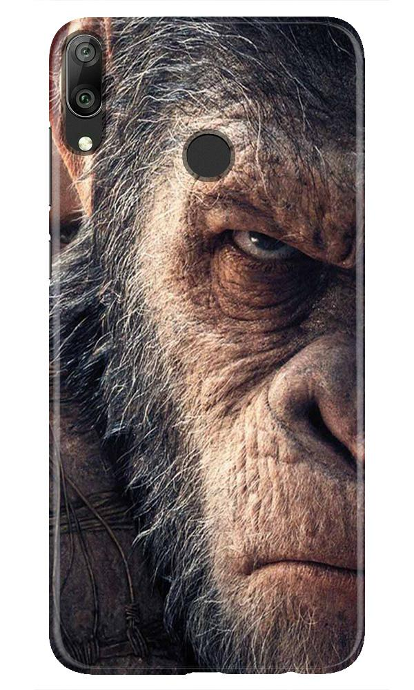 Angry Ape Mobile Back Case for Honor Play (Design - 316)